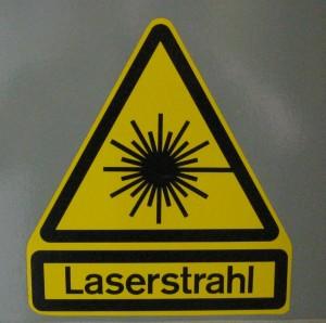 Wettergasse Laserstrahl